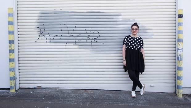 Arnett runs a design business from her Mount Cook flat.