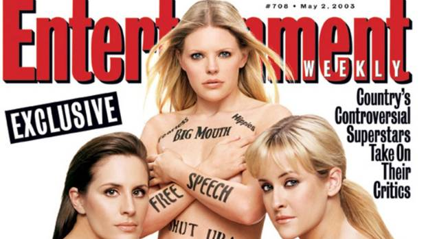 Image result for entertainment weekly dixie chicks
