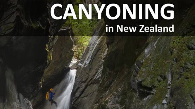 Dan Clearwater: Canyoning in New Zealand.