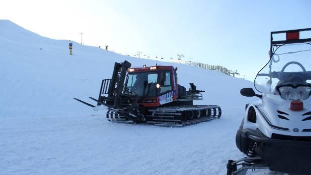 Coronet Peak is ready to open for the ski season on Saturday.