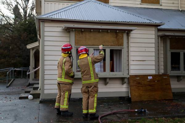 At least eight crews were at the former Risingholme Community Centre in Opawa shortly after 9pm on Monday. Firefighters ...