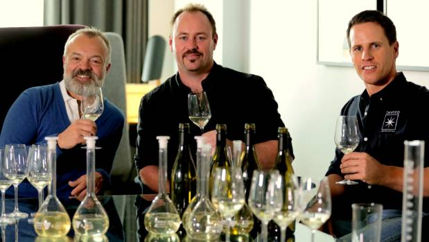 Invivo Wines founders Rob Cameron and Tim Lightbourne partnered with UK celebrity Graham Norton to create a sauvignon ...