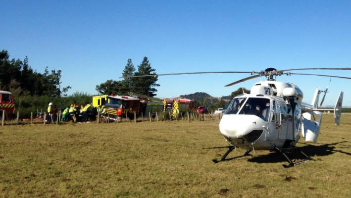 The two men who died in a crash near Mt Bruce have been