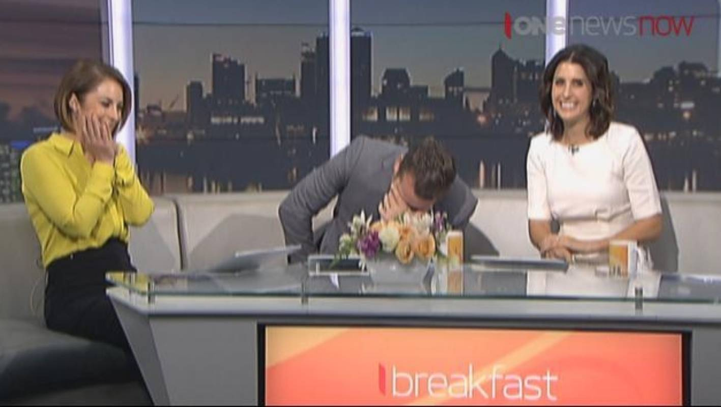 Whats A Tune Up >> Rawdon Christie's on-air gaffe makes Melissa Stokes double ...