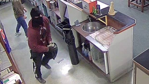 Police are still looking for this man, who assisted Rennie Cunningham in the aggravated robbery.