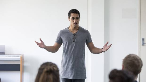 James Rolleston in The Rehearsal.