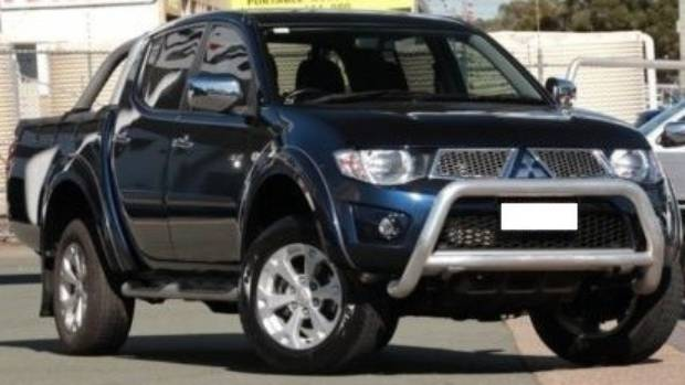A blue Mitsubishi Triton, similar to this one, came off the Baylys Coast Rd near Dargaville and killed three people when ...
