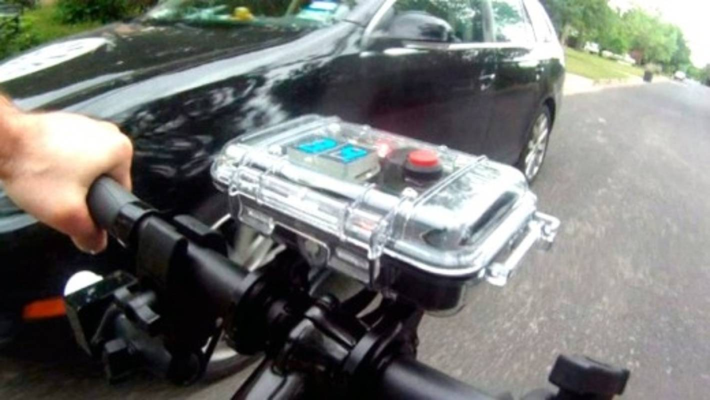 The Device That Measures Cyclist Passing Distances Measure Distance By Bicycle