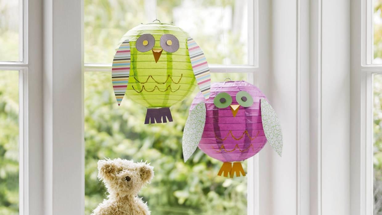 Diy Project Make An Owl Paper Lantern
