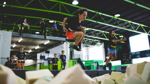 Flip Out will open two trampoline parks in Christchurch, the first in Bromley in July and another in a hangar at the old ...