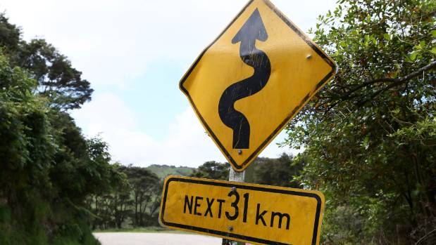 You can't escape the winding roads in New Zealand.