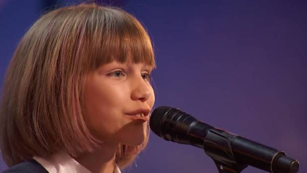 Grace VanderWaal performs I Don't Know My Name on America's Got Talent.