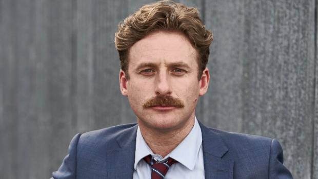Dean O'Gorman (above in Westside) has also played Kirk Douglas in the US film Trumbo.