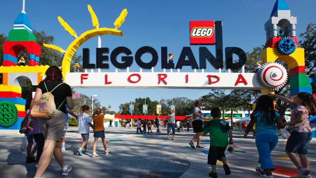 Lego has six Legoland theme parks.