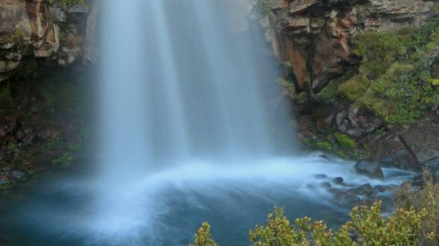 The majestic Taranaki Falls, close to Whakapapa Village in Tongariro National Park.