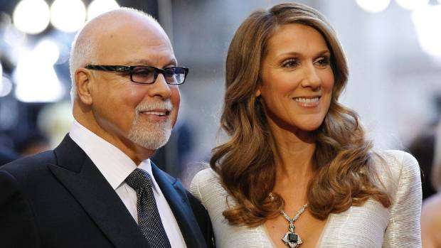 Celine Dion's husband, Rene Angelil, passed away in January 2016.