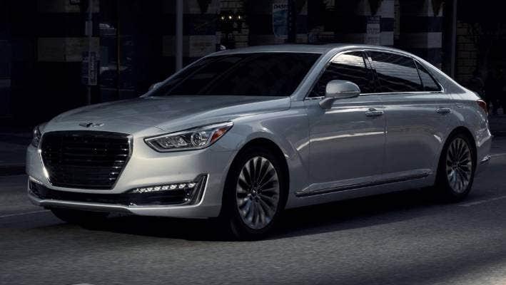 Hyundai S Luxury Brand Is Born With Genesis G90 Stuff Co Nz