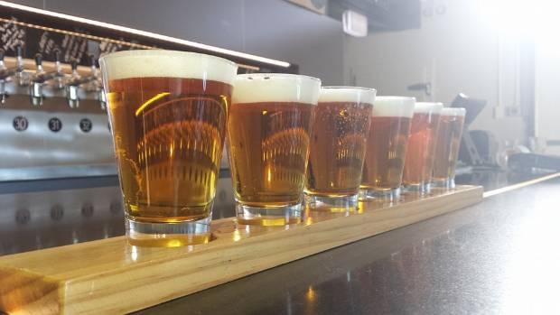 A Beer Spot tasting platter.