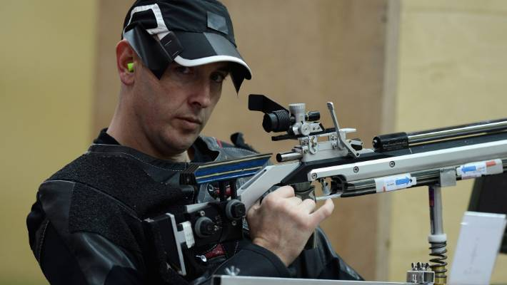 New Zealand Shooting Facebook: New Zealand Shooter Michael Johnson Targets Two Gold