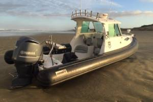 A boat that was abandoned on 90 Mile Beach, leading police to the record meth haul, has now been sold.