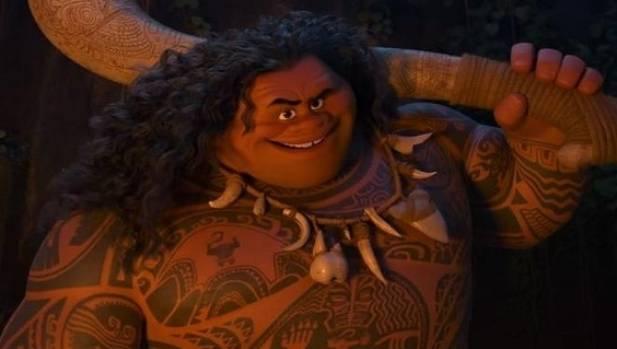 Dwayne 'The Rock' Johnson plays Polynesian demi-god Maui in the Moana movie.