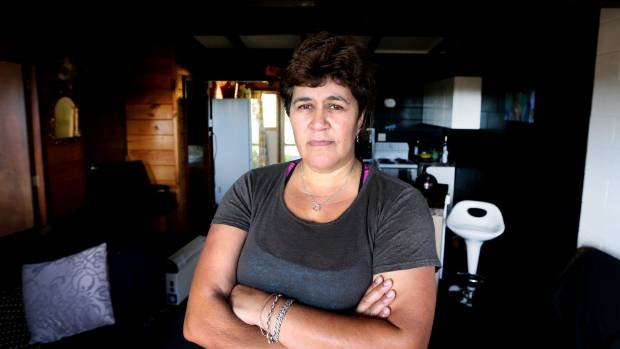 New Plymouth home owner Kerryanne Hopkins' house has tested positive for methamphetamine for a second time.