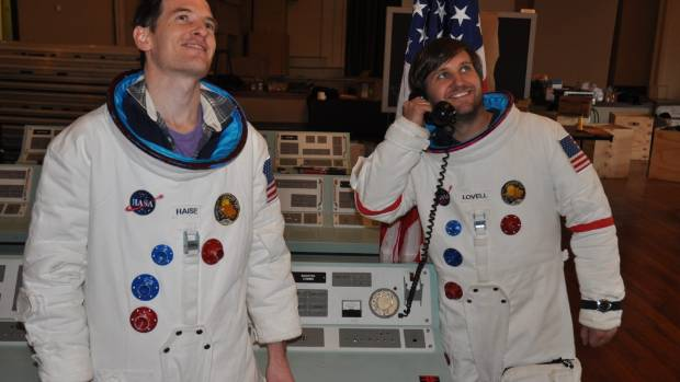 Mission Control creators Kip Chapman, left, and Brad Knewstubb.