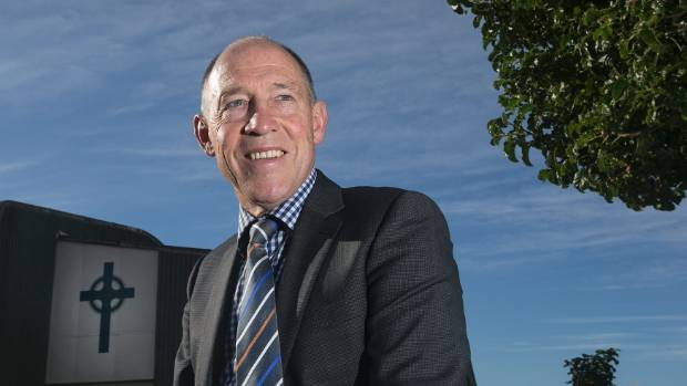 St Patrick's College rector Neal Swindells says the school is working out the best way to deal with asbestos in the ...