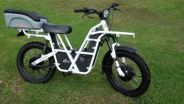 Kiwi Made Ubco Electric Farm Bike Ideal For The Strong