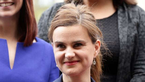 Labour MP Jo Cox was shot and stabbed to death in northern England.