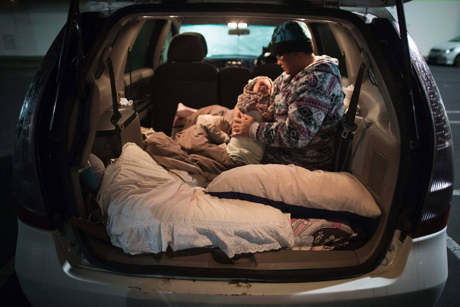 Sleeping In Car >> More Than 1000 Sleep In Cars To Highlight Homelessness In