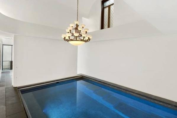 The carriage house has a luxurious 9-metre indoor swimming pool.