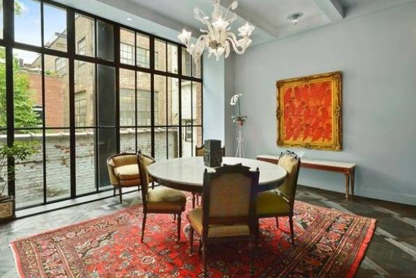 This West Village carriage house is where Taylor Swift will live while her own apartment is renovated. The house has ...