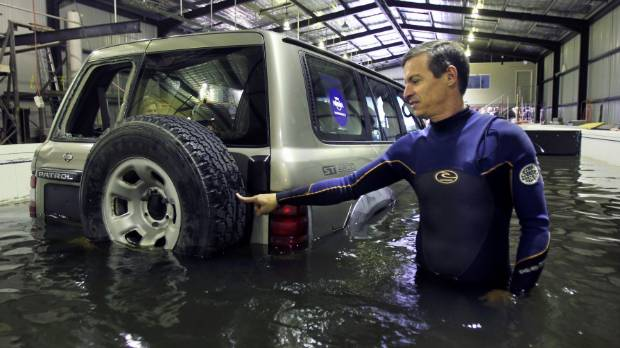 How Much Water Can Float A Car Away