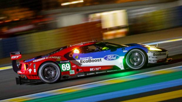 Dixon finished third in class in the new Ford GT during his first crack at the 24 Hours of Le Mans this year.