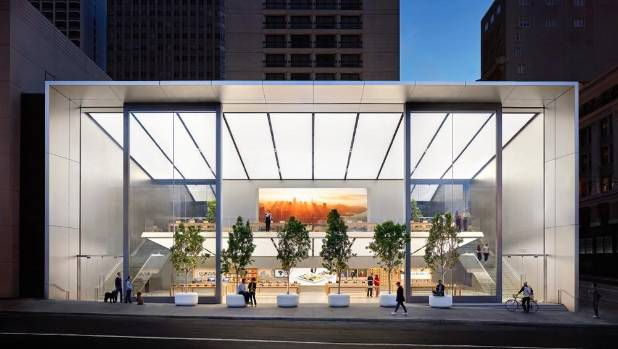 Apples stores are cool but in nz youll likely never see one apples new union square flagship store in san francisco the company has developed a new solutioingenieria Image collections