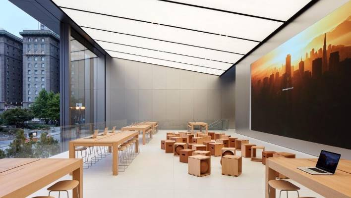 Apple's stores are cool, but in NZ you'll likely never see