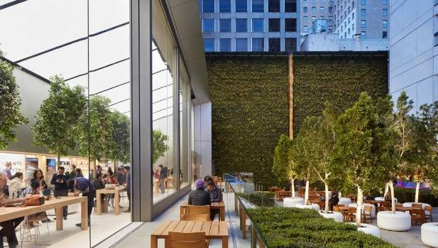Apples stores are cool but in nz youll likely never see one the plaza at the back of the new apple store in san francisco which is solutioingenieria Image collections