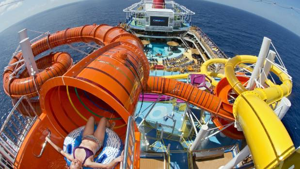 Carnival Cruise Lines fall into the standard category but also offer some of the largest ships in the world.