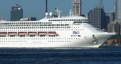 "P&O Cruises says two- to three-day cruises have ""been growing tremendously"" over the past few years."