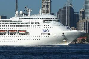 """P&O Cruises says two- to three-day cruises have """"been growing tremendously"""" over the past few years."""