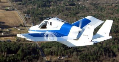 The Terrafugia Transition Flying Car.