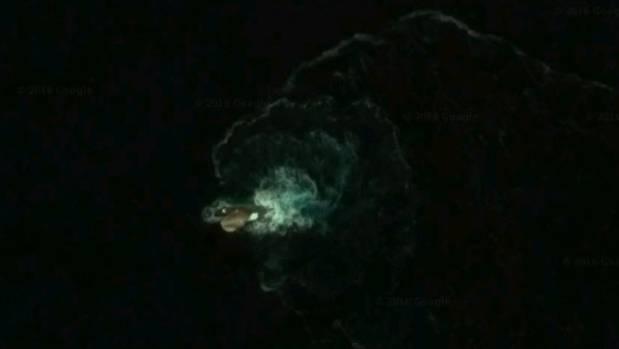 A Kraken UFO Monster No Just Sail Rock