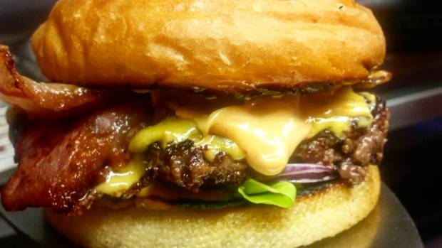 The gourmet burger has taken hold in Auckland - and its not all about beef and cheese anymore.