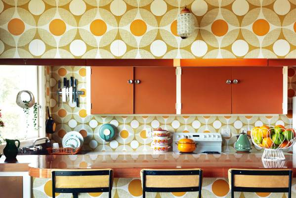 The kitchen in Tannia and Dylan Lee's Dunedin rental is fundamentally unchanged since 1974, and includes features dating ...