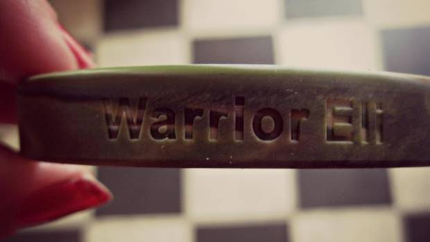 """Emily Dirr sent """"Warrior Eli"""" wristbands to supporters of a boy with cancer. After telling thousands of strangers about ..."""
