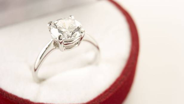 Do you have to be wearing your rings for them to be covered by your insurance policy? Better check...