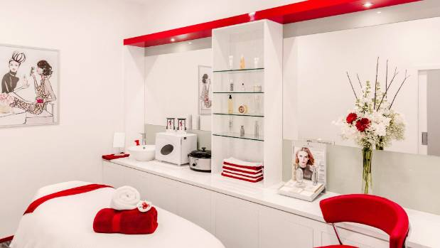 Relax in Elizabeth Arden's treatment room at its new boutique on Queen Street.