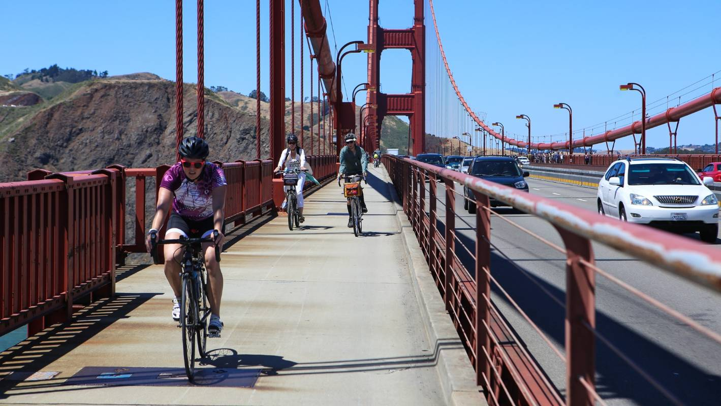 Biking The Golden Gate Bridge Is One Of San Francisco S