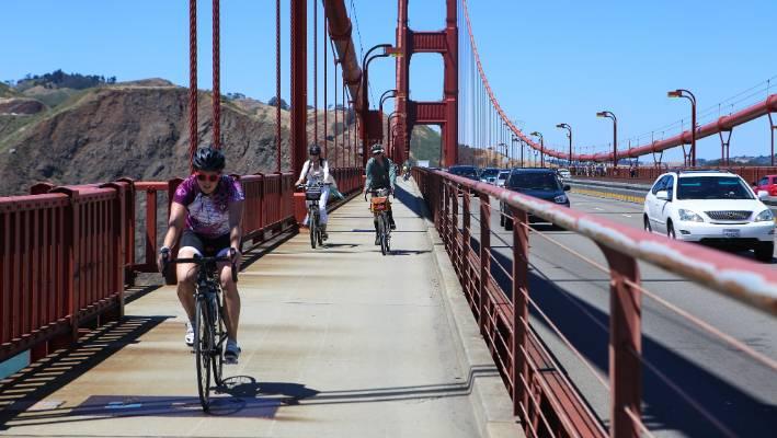 Biking The Golden Gate Bridge Is One Of San Francisco S
